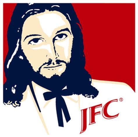 Jesus Fucking Christ Meme - lol jesus pictures kfc nah how about some jfc
