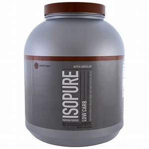 Nature U0026 39 S Best  Isopure  Isopure  Low Carb Protein Powder  Dutch Chocolate  4 5 Lbs  2 04 Kg