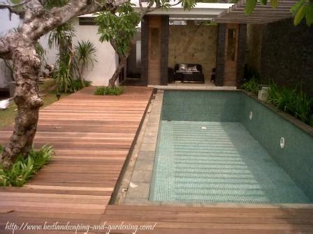 desain kolam ikan air mancur kolam renang  taman