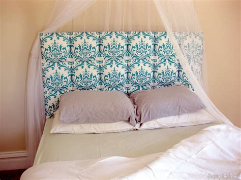 Headboard Diy Upholstered by Easy Upholstered Tufter Headboard Tutorial Reality Day