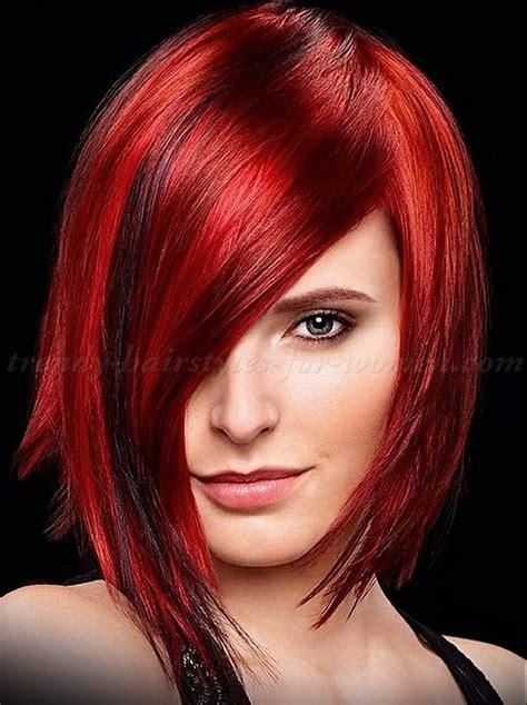 medium length women hairstyle for straight hair