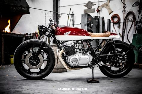 Honda Cb750f Cafe Racer By Wrench Kings Bikebound