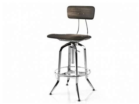 vintage toledo bar chair vintage toledo bar chair 3d model restoration hardware