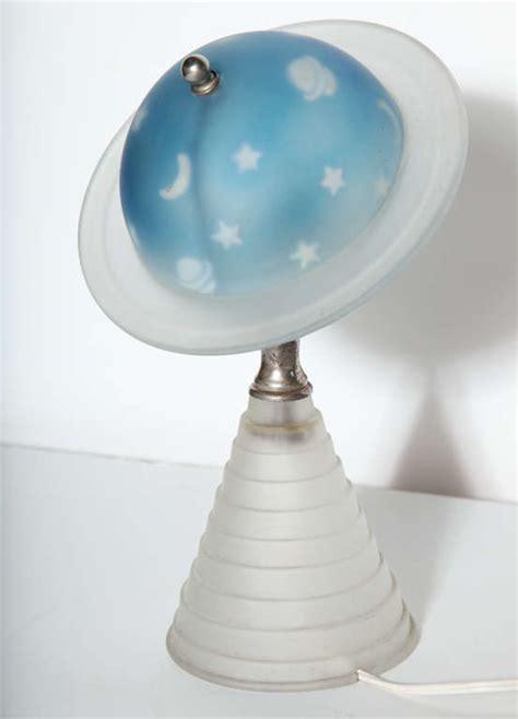 worlds fair saturn lamp  stdibs