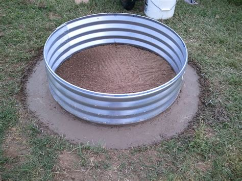 Fantastic Galvanized Fire Pit Ring