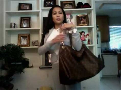 difference  artsy gm mm louis vuitton bag youtube