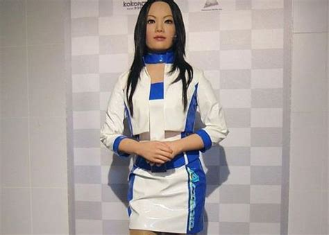 Actroid Is A Type Of Android (humanoid Robot) With Strong