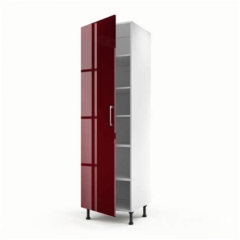 colonne cuisine 50 cm largeur meuble de cuisine colonne 1 porte griotte h 200 x l 60 x p 56 cm leroy merlin