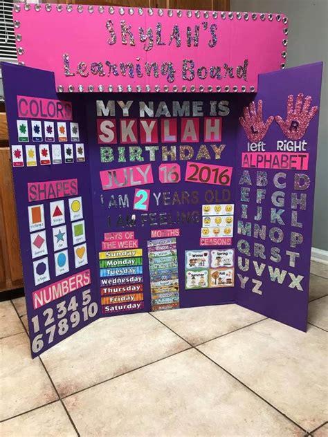 kaileys learning board preschool learning