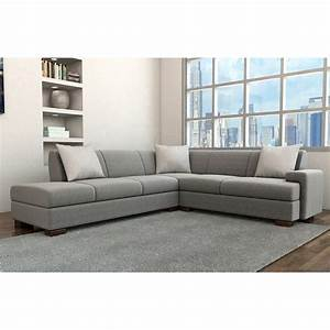 Boxter modern sectional simple contemporary sofa modern for Modern sectional sofa dimensions