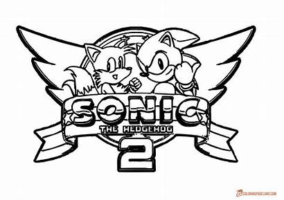 Sonic Hedgehog Coloring Pages Games Friends Printable