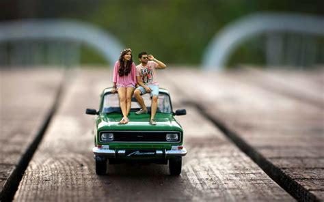 miniature photography ideas  pre wedding