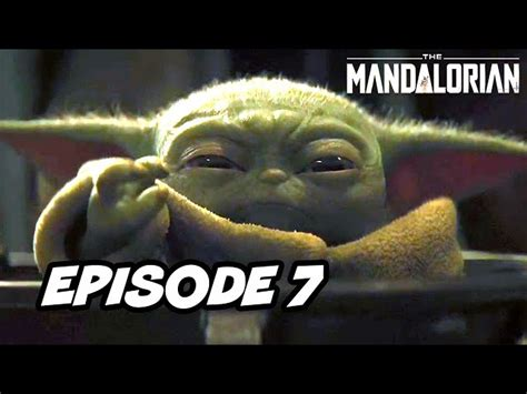 Star Wars The Mandalorian Episode 7 - TOP 10 WTF and ...
