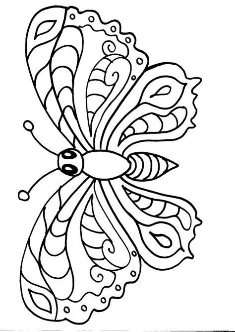 colorare gratis disegno farfalla da colorare disegno farfallina da colorare