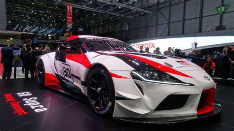 The Toyota Gr Supra Racing Concept Is The High-performance