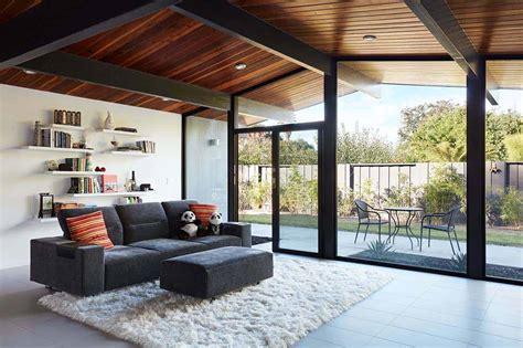 fresh modern update   eichler house   san