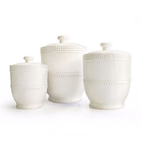 contemporary kitchen canister sets white canister set storage kitchen jar modern 3