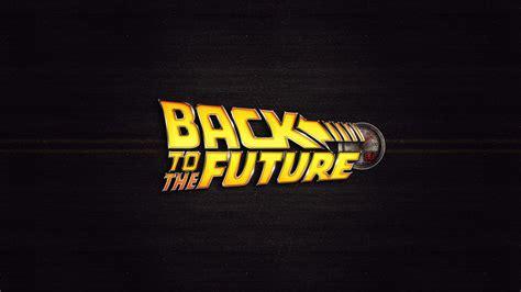 back to the future movie logo desktop wallpaper