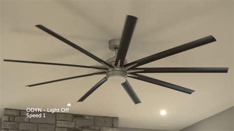 fanimation fpd odyn  ceiling fan  led light