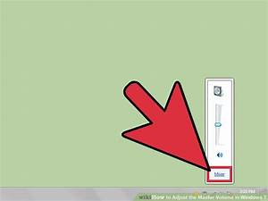 How to Adjust the Master Volume in Windows 7: 8 Steps
