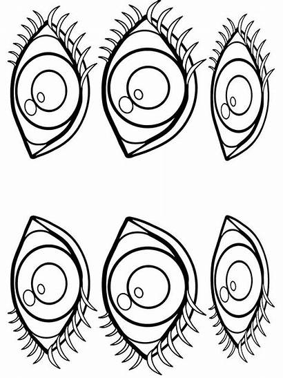 Eyes Coloring Pages Printable Mycoloring