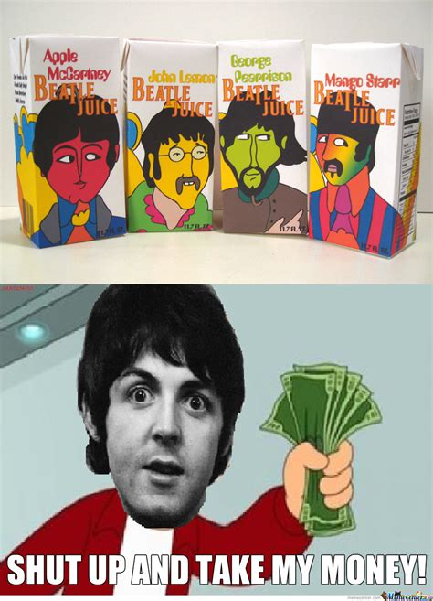 The Beatles Meme - beatle juice by santicapo meme center