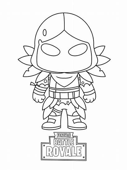 Fortnite Coloring Skin Pages Printable Drawing Drawings