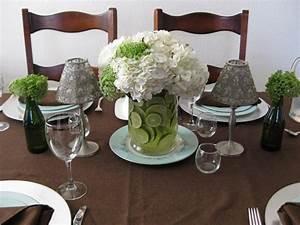 Green and White Wedding Centerpieces Decor   Wedding ...