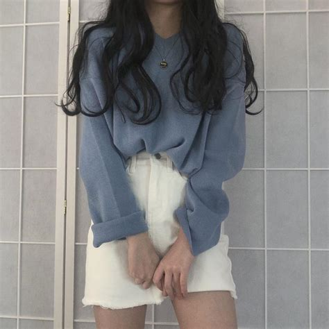 Itgirl Shop Basic Soft Aesthetic V Neck Knitted Sweater