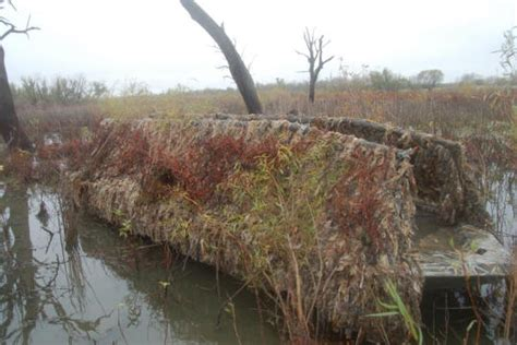Mud Buddy Duck Boat Blind by Blind Material For Boat Waterfowl Ducks