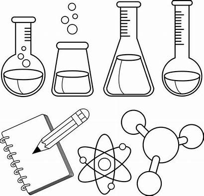 Science Drawing Chemistry Coloring Pages Tools