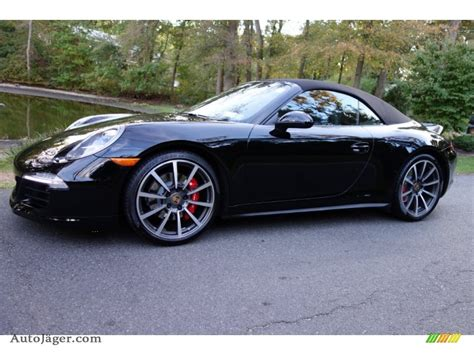 porsche 911 convertible black 2014 porsche 911 carrera 4s cabriolet in black 154385