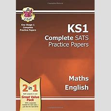 Ks1 Complete Sats Practice Papers  Maths, Reading And Spelling  9781847620408 Slugbooks