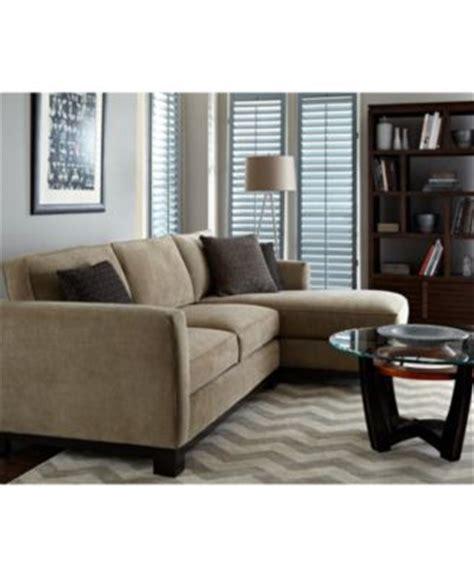 kenton fabric 2 piece chaise sectional apartment sofa