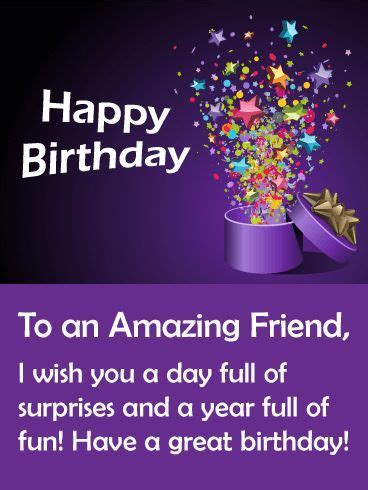 To An Amazing Friend, Happy Birthday Pictures, Photos, and ...