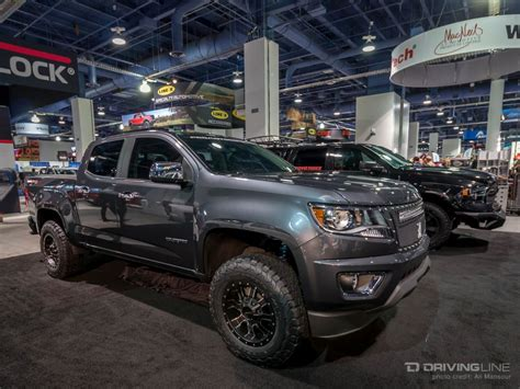 Top Selling Truck 2015 by Sema Top Ten Trucks Page 2 Chevy Colorado Gmc