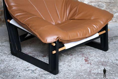 fauteuil enti 232 rement restaur 233 brun caramel