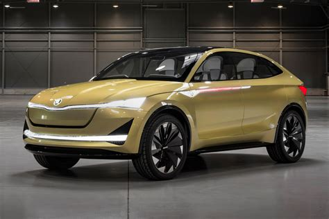 New Skoda Vision E Concept Review  Pictures  Auto Express