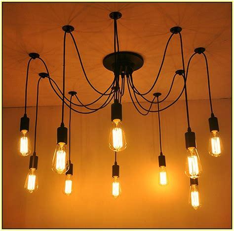 edison bulb chandelier edison bulb chandelier home