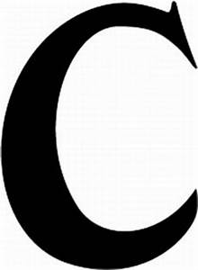 Resume Format: Letter C Fonts