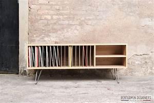 Meuble Pour Vinyle : 17 meilleures id es propos de rangement de vinyles sur pinterest rangement de disques ~ Teatrodelosmanantiales.com Idées de Décoration