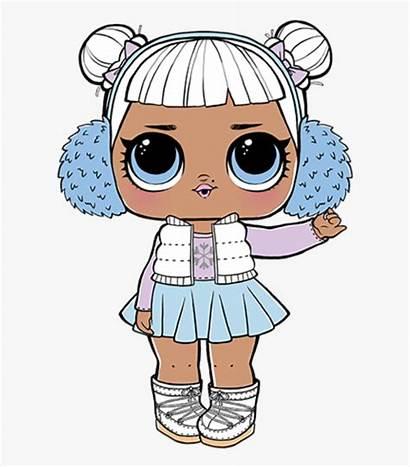 Lol Surprise Dolls Snow Angel Doll Clipart