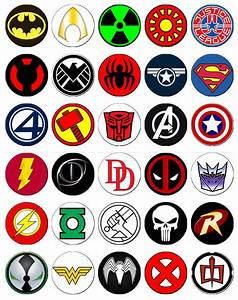 The gallery for --> Superheroes Names And Logos