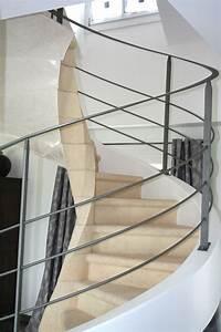 Garde Corp Escalier : les rampes ehi escalier h lico dal industriel ~ Dallasstarsshop.com Idées de Décoration
