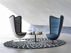 Designer Sessel Günstig : actiu badminton designer sessel in stoff mit drehteller und auto return sessel lounge ~ Watch28wear.com Haus und Dekorationen