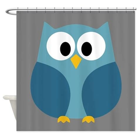 Cafe Curtains For Bathroom by Cute Cartoon Owl Shower Curtain By Marshenterprises