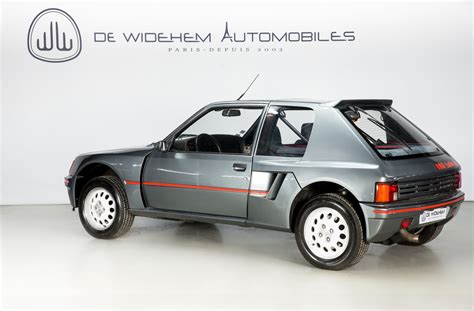 Peugeot 205 T16 by Peugeot 205 Turbo T16 Thecoolcars Nl