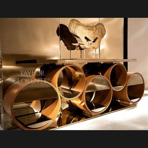 leather console table designer leather console table llorente furniture