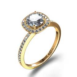 14k yellow gold engagement rings pave set halo engagement ring in 14k white gold canada