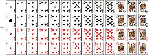 deck  cards printable printableecom
